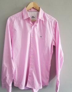 Lacoste 40 slim fit button down shirt